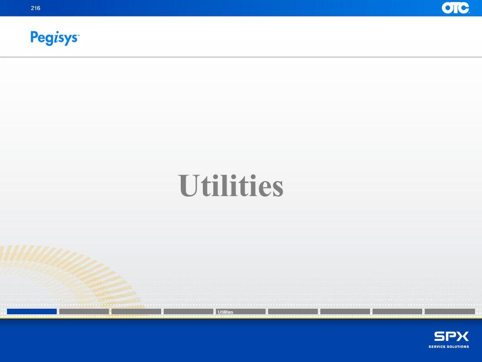 216 Utilities Utilities Utilities