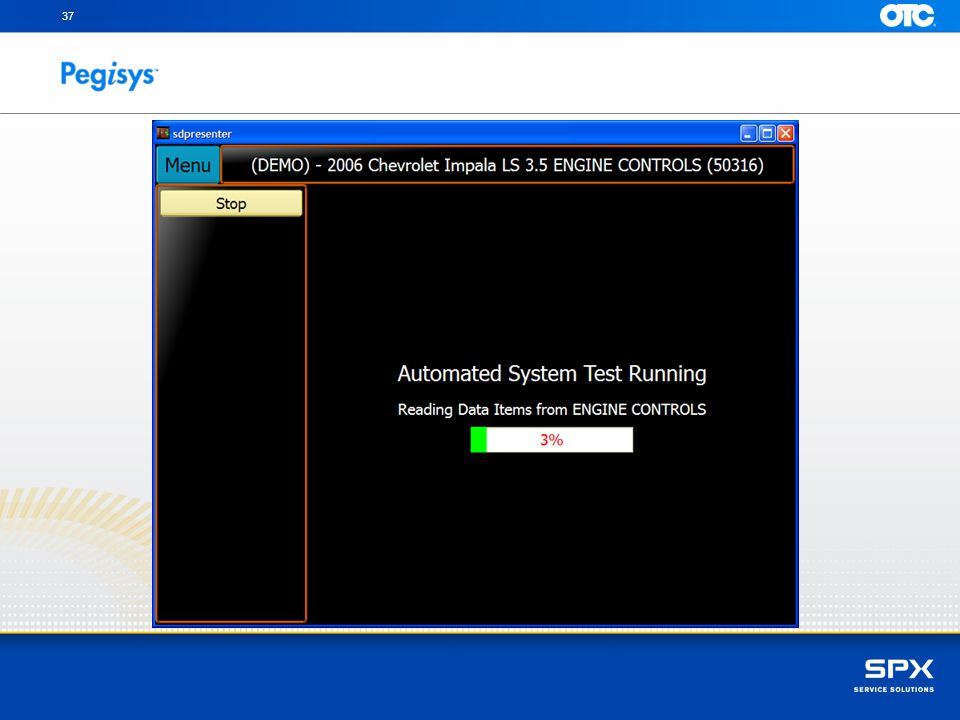 Processing OBD-II DTC's, for you to review at the end of the test