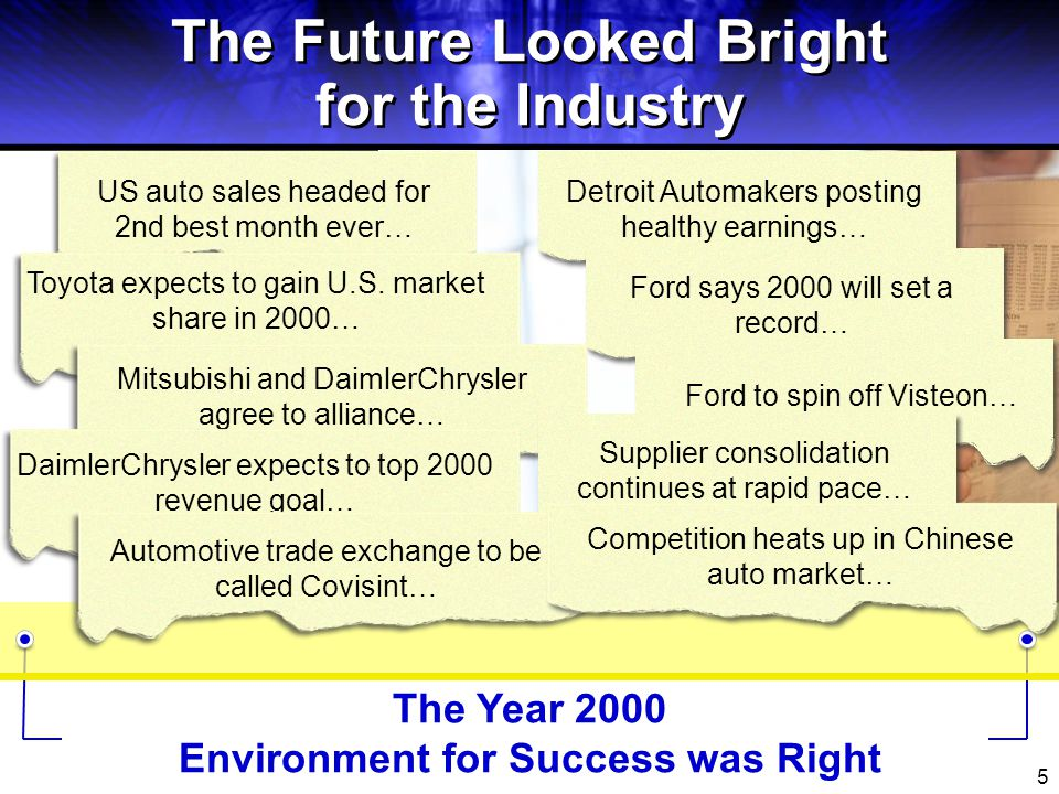 The Future Looked Bright for the Industry