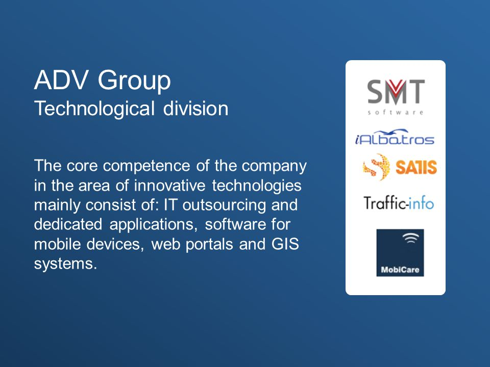 ADV Group Technological division
