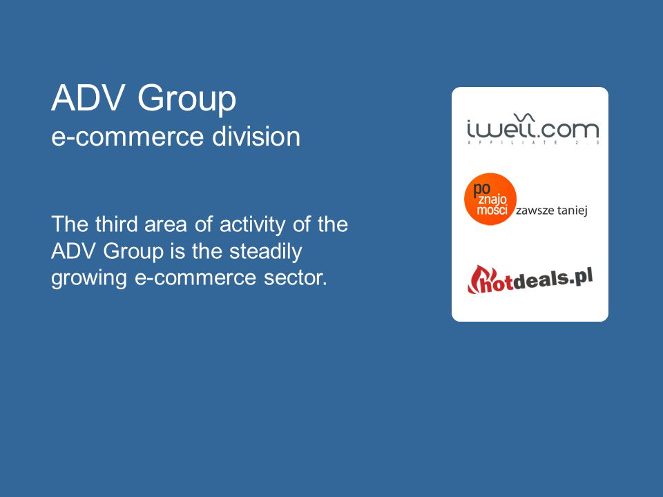 ADV Group e-commerce division
