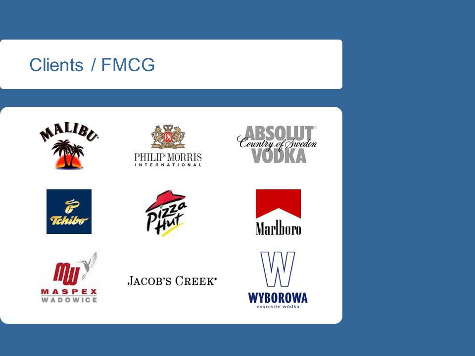 Clients / FMCG