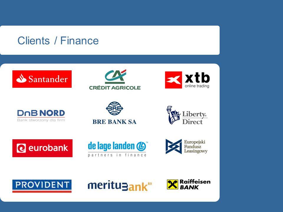 Clients / Finance