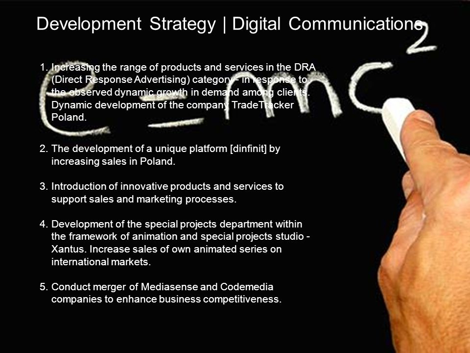 Development Strategy | Digital Communications