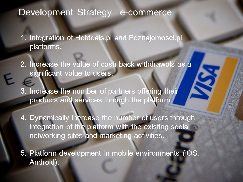 Development Strategy | e-commerce