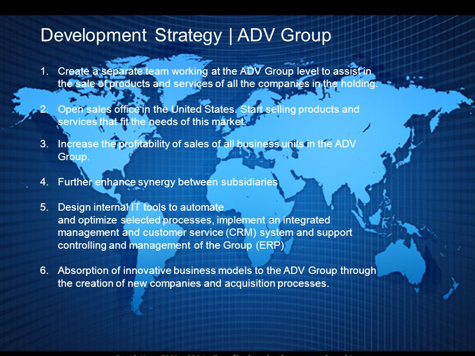 Development Strategy | ADV Group