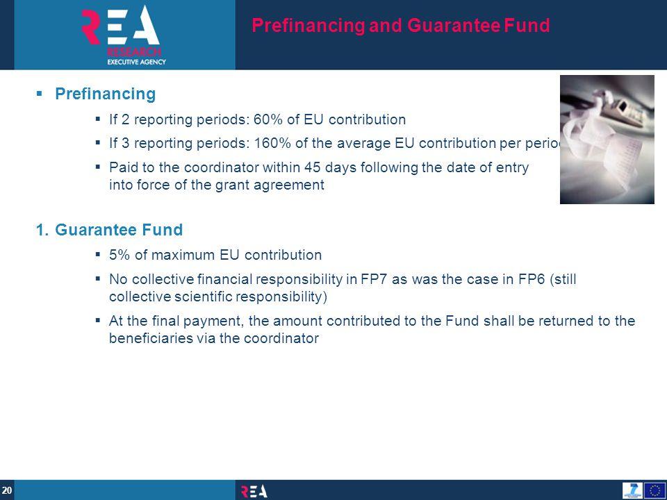 Prefinancing and Guarantee Fund