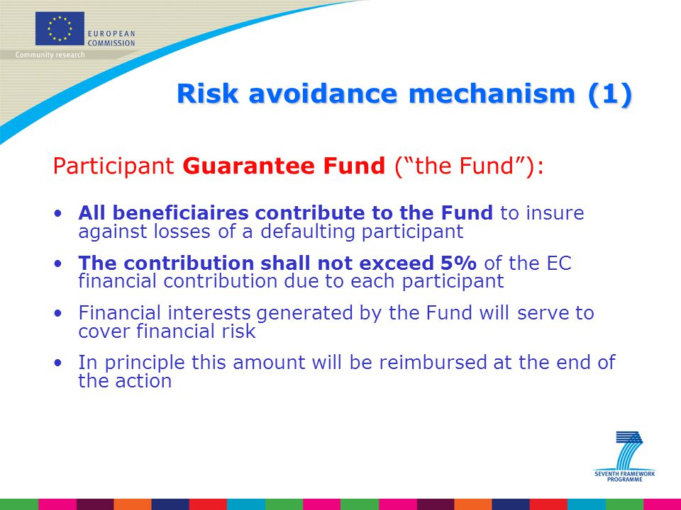 Risk avoidance mechanism (1)