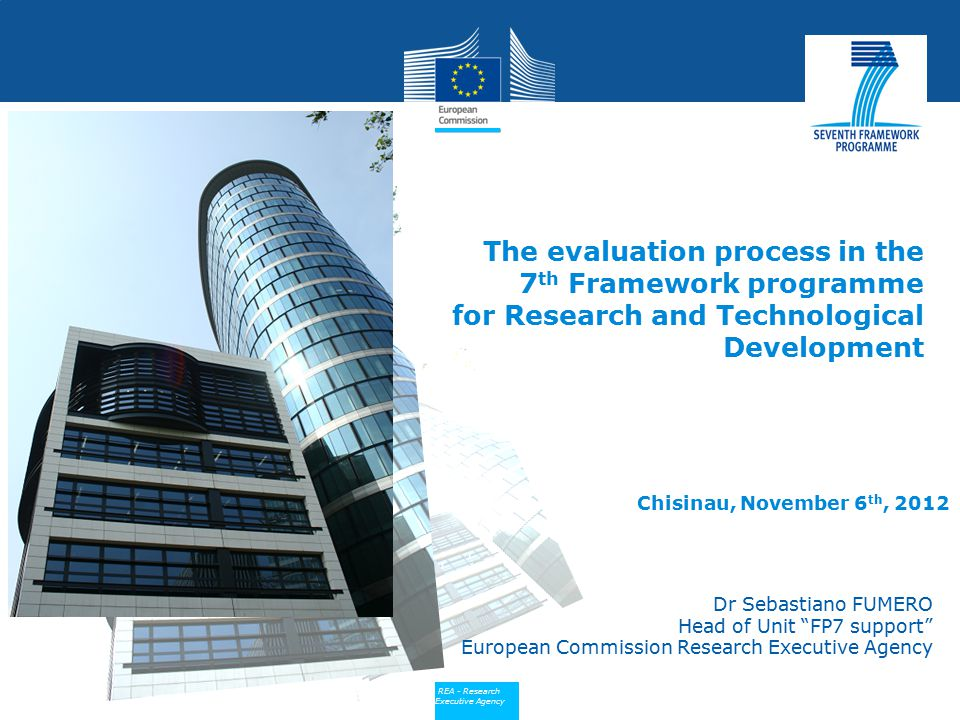 The evaluation process in the 7th Framework programme for Research and Technological Development