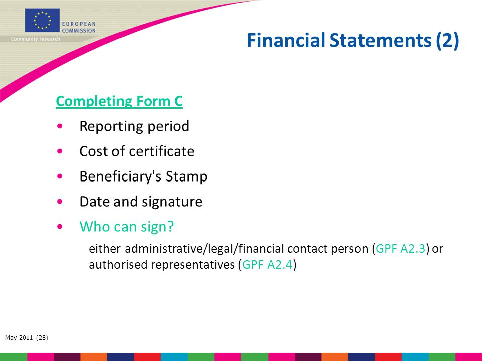 Financial Statements (2)
