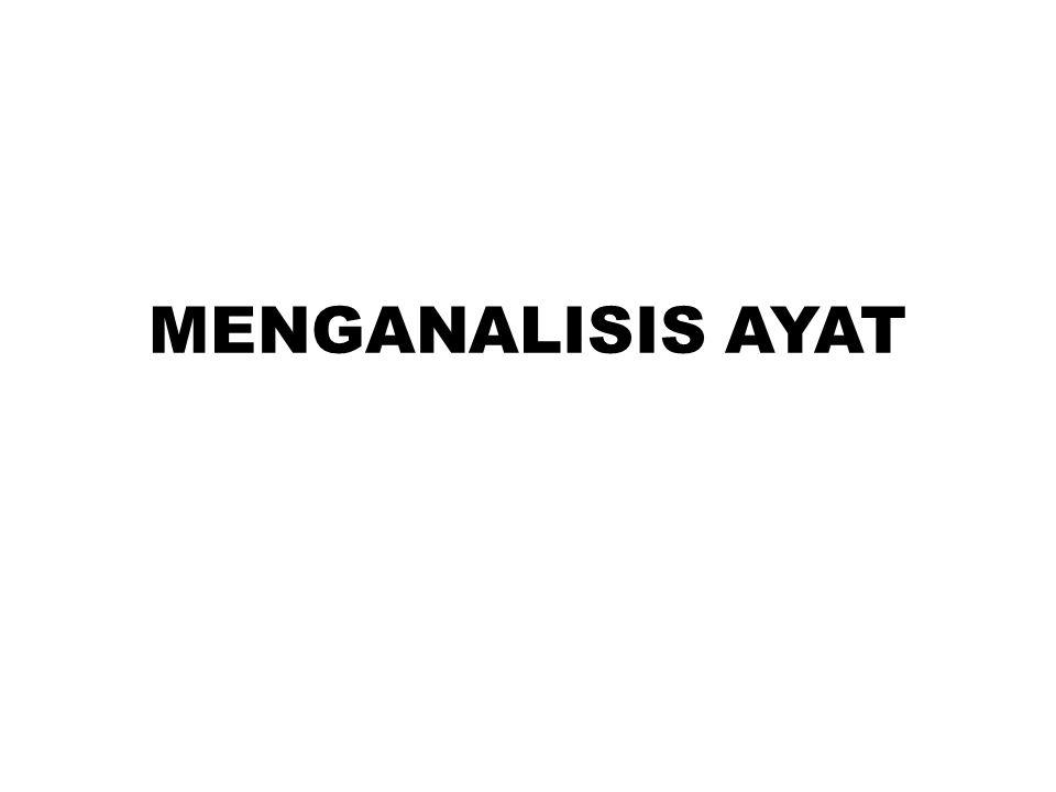 MENGANALISIS AYAT