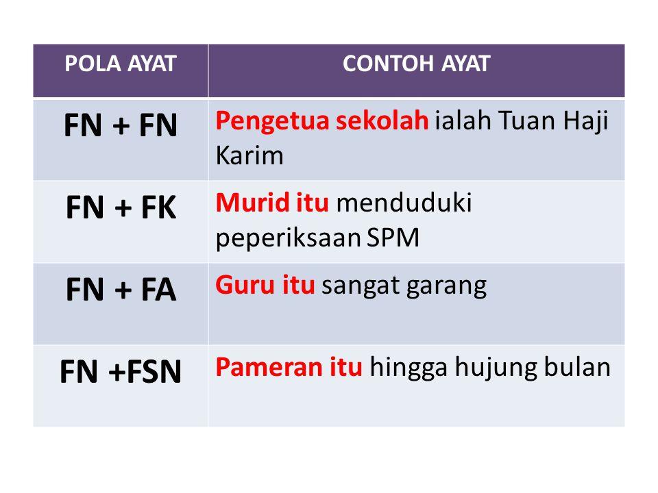 FN + FN FN + FK FN + FA FN +FSN