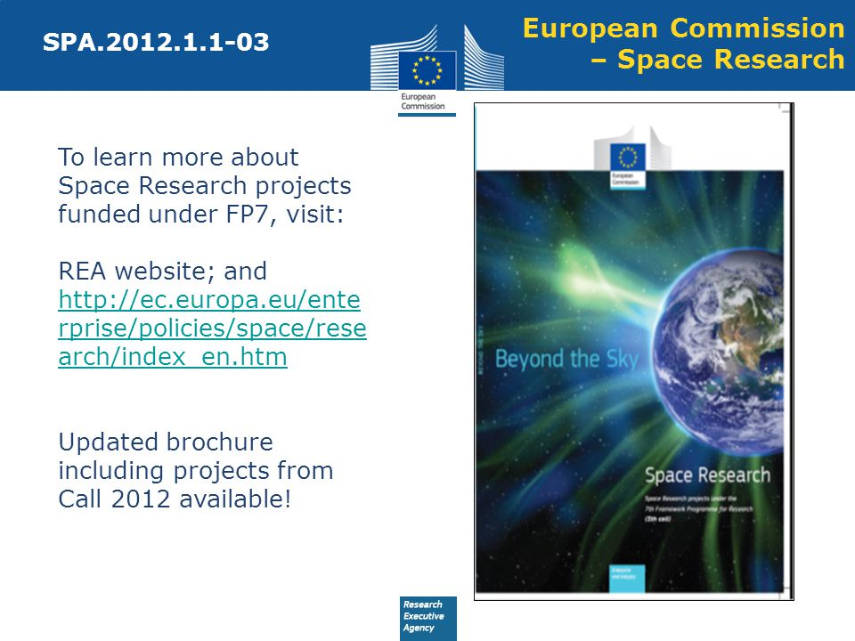 European Commission – Space Research
