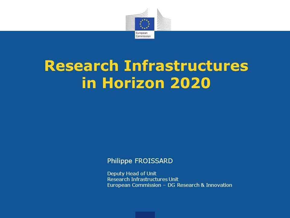 Research Infrastructures in Horizon 2020