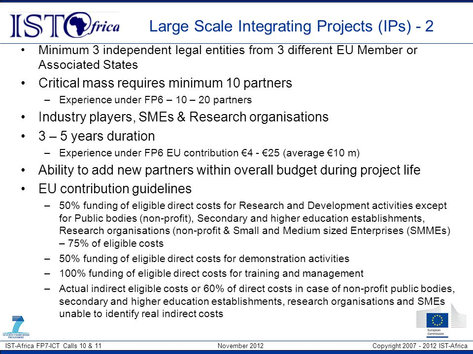 Large Scale Integrating Projects (IPs) - 2