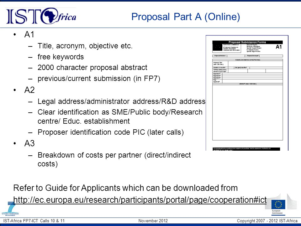 Proposal Part A (Online)