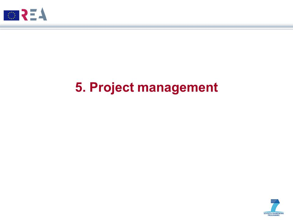 5. Project management 14