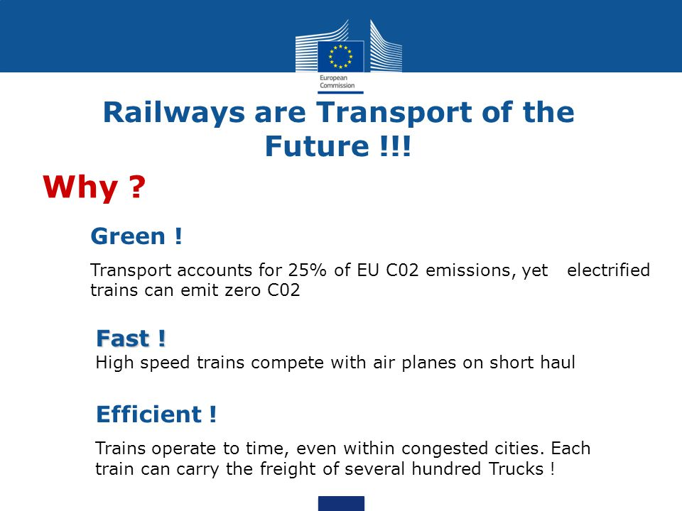 Railways are Transport of the Future !!!