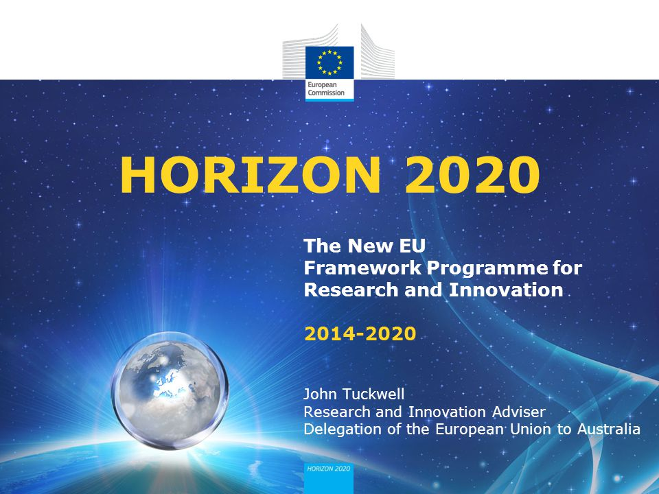 HORIZON 2020 The New EU Framework Programme for Research and Innovation 2014-2020