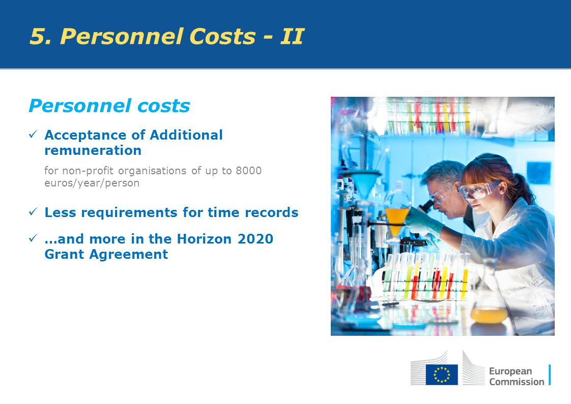 5. Personnel Costs - II Personnel costs