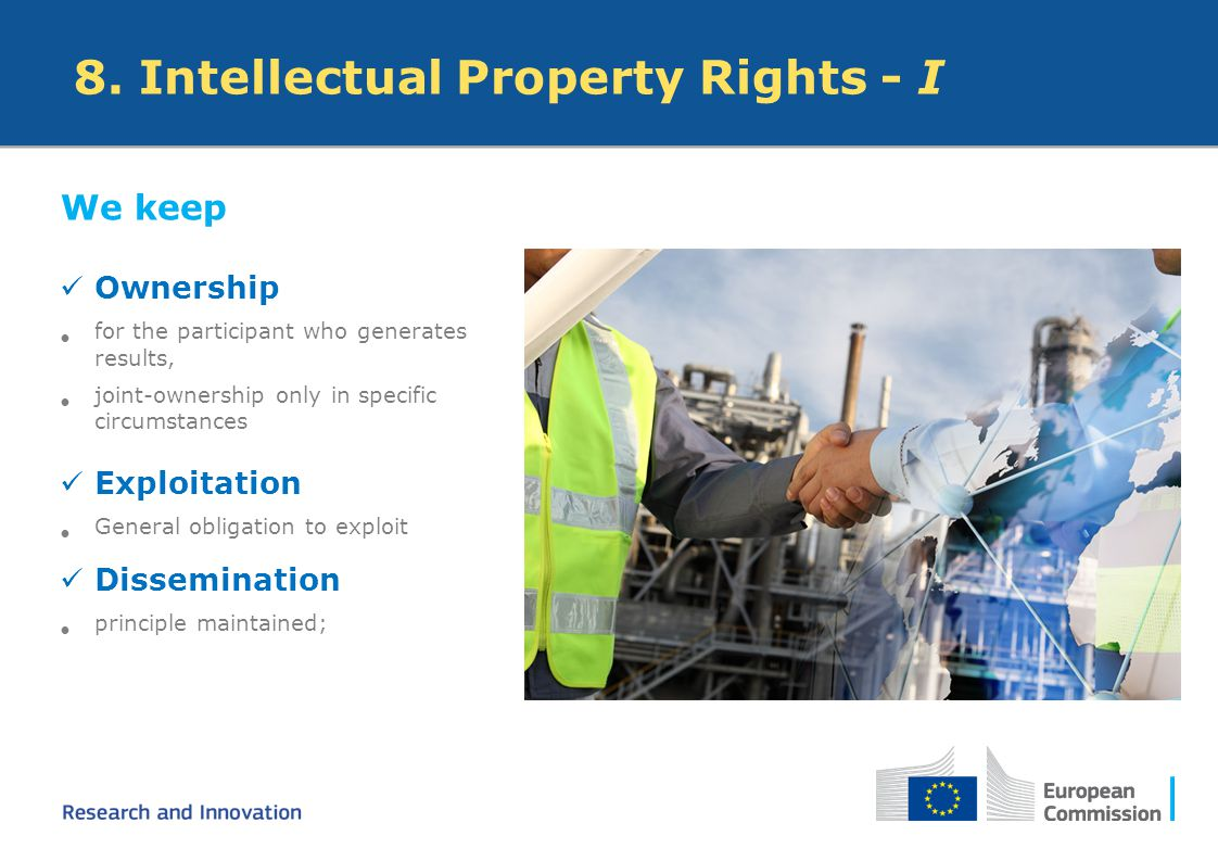 8. Intellectual Property Rights - I