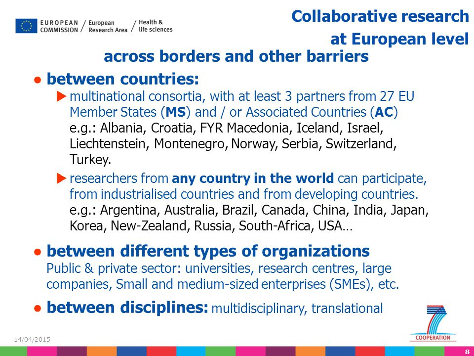 across borders and other barriers