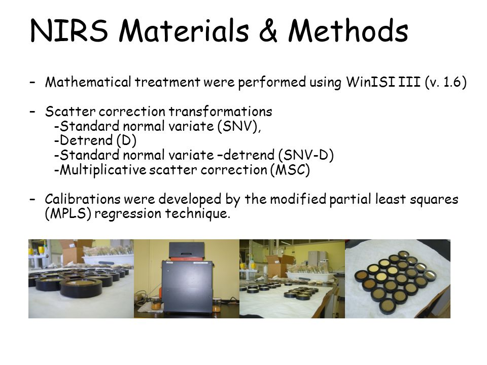 NIRS Materials & Methods