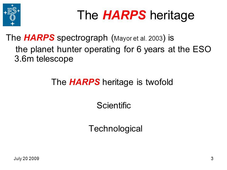 The HARPS heritage