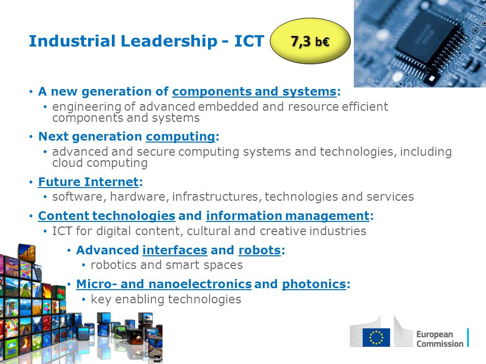 Industrial Leadership - ICT