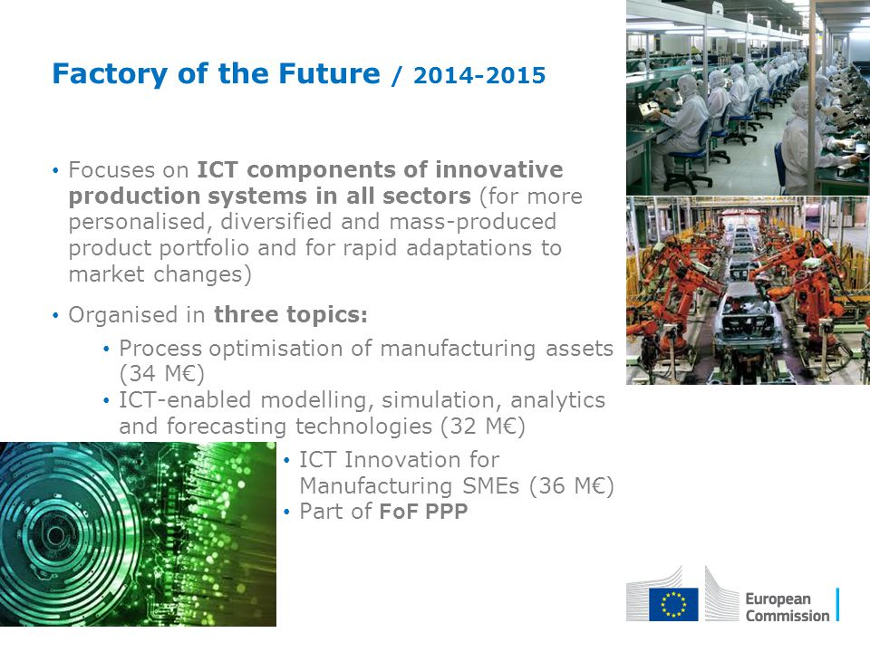 Factory of the Future / 2014-2015