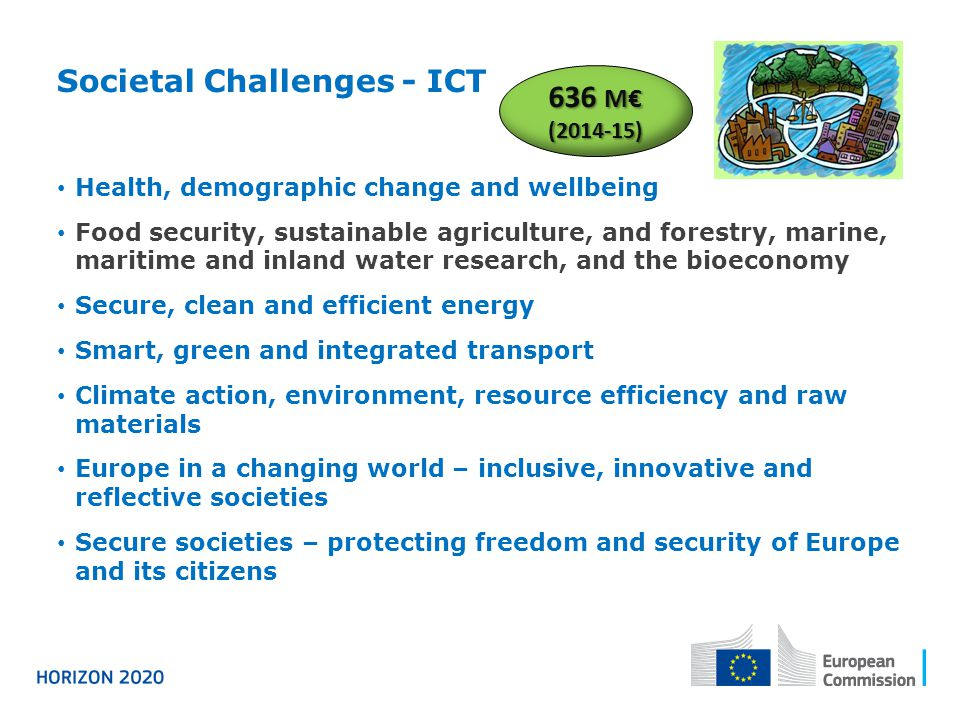 Societal Challenges - ICT