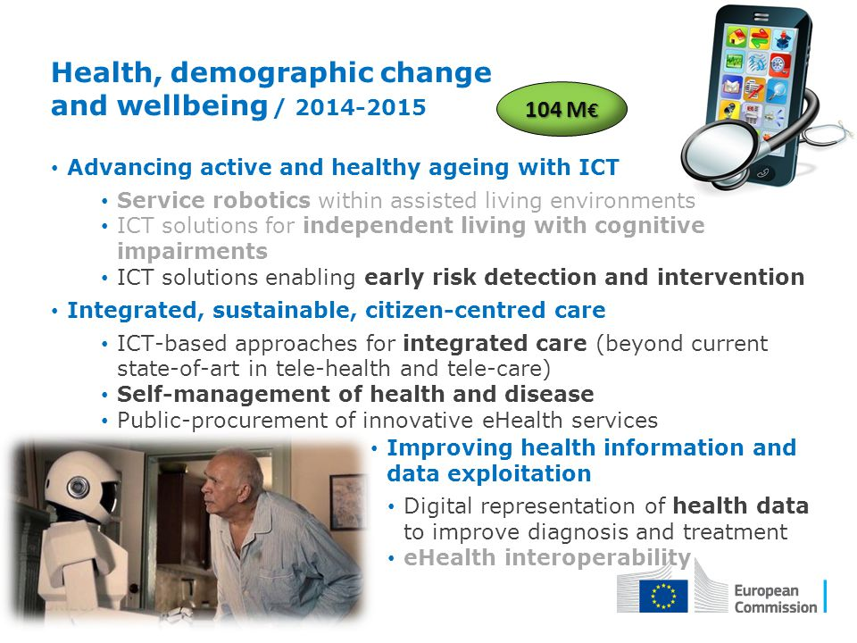 Health, demographic change and wellbeing / 2014-2015