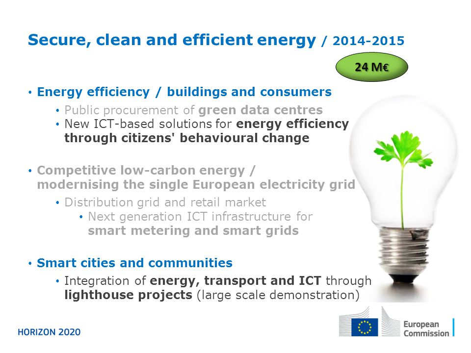 Secure, clean and efficient energy / 2014-2015