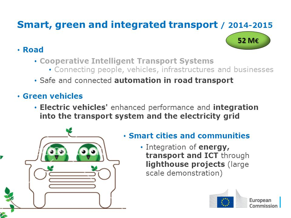 Smart, green and integrated transport / 2014-2015