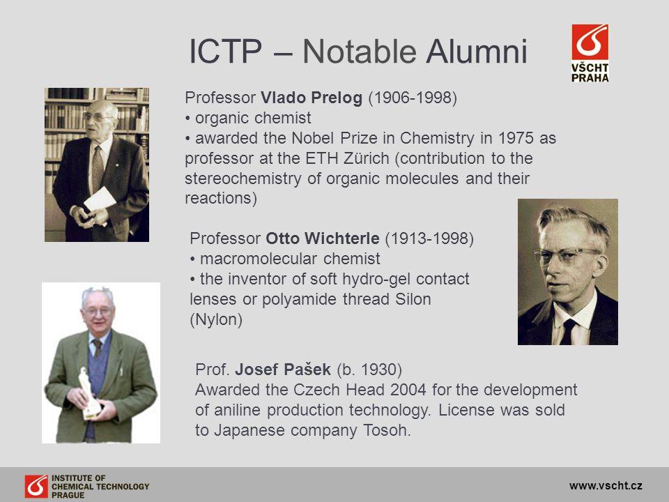 ICTP – Notable Alumni Professor Vlado Prelog (1906-1998)