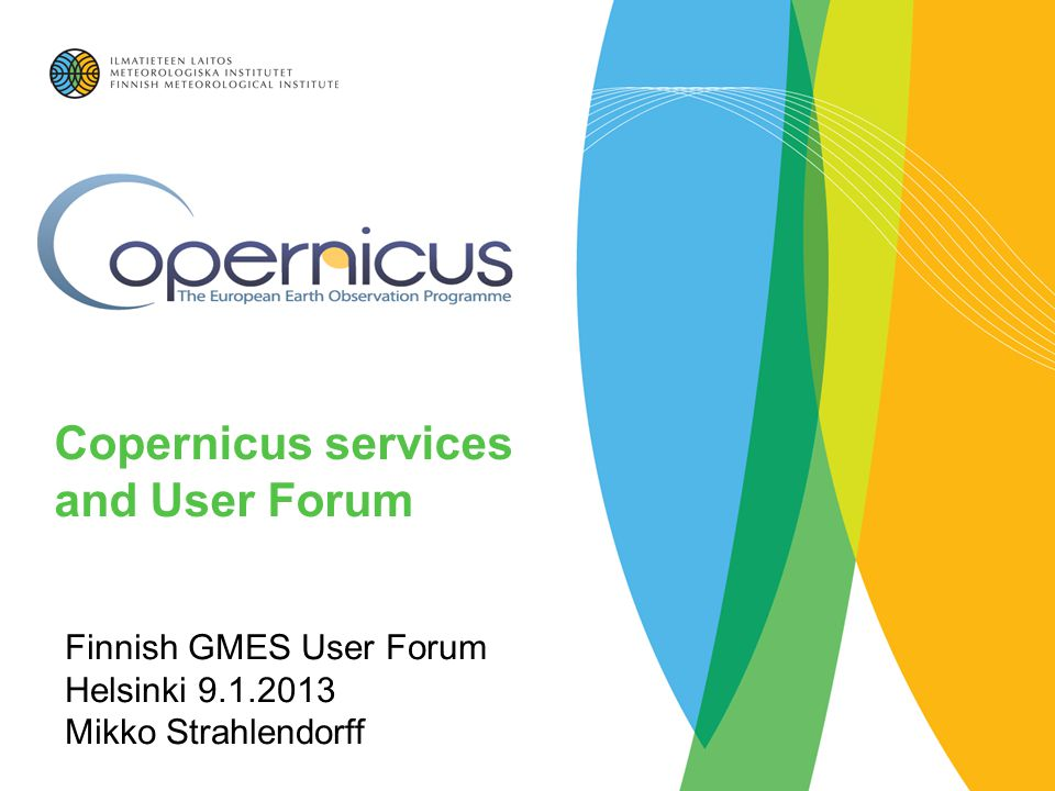 Copernicus services and User Forum - ppt video online download e5c38eb58c5