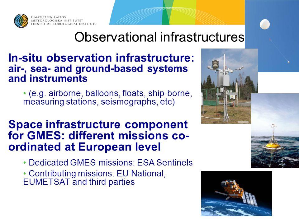 Observational infrastructures