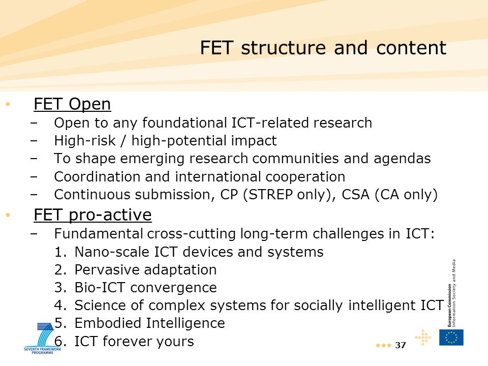 FET structure and content
