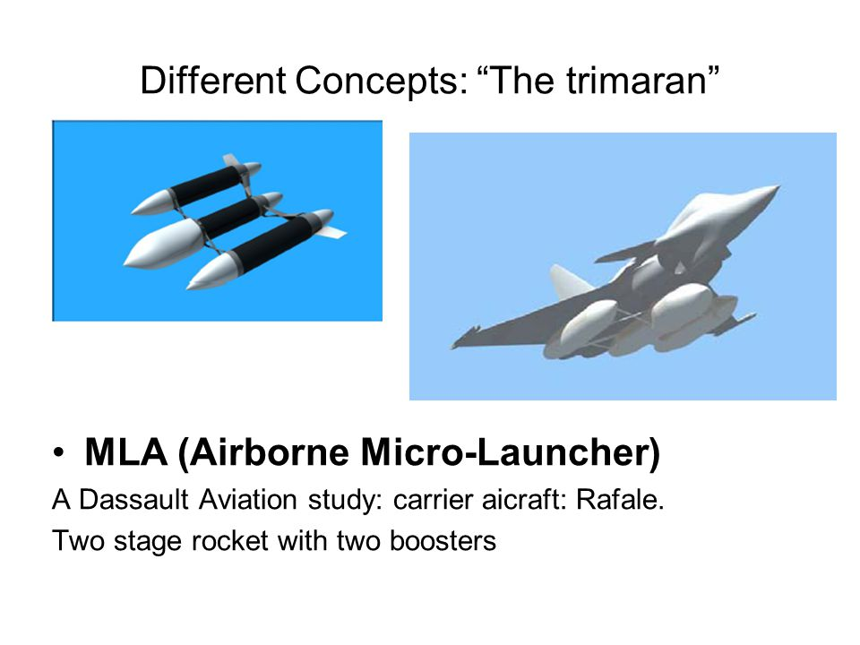 Different Concepts: The trimaran