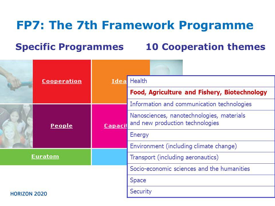 FP7: The 7th Framework Programme