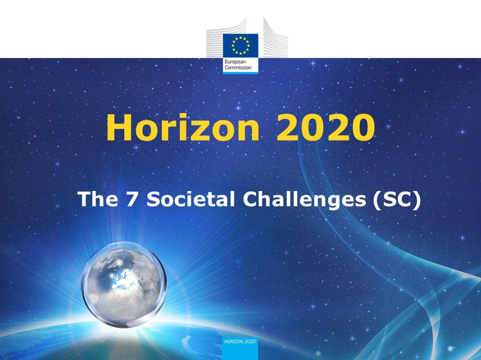 The 7 Societal Challenges (SC)