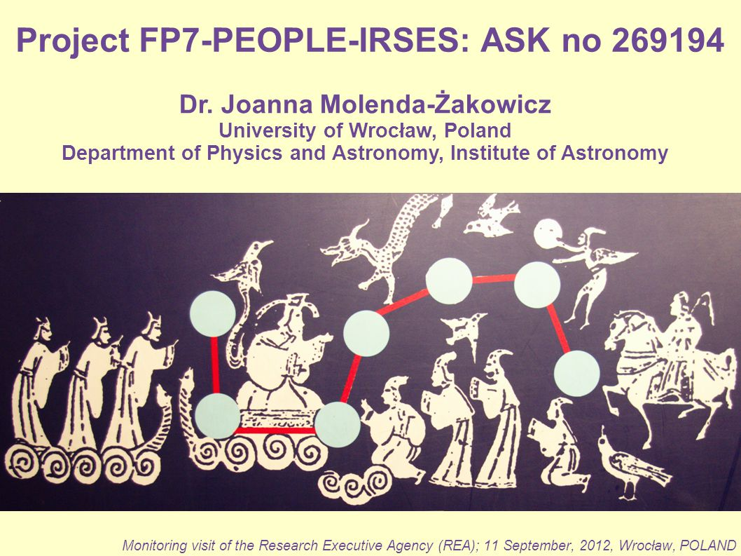 Project FP7-PEOPLE-IRSES: ASK no 269194