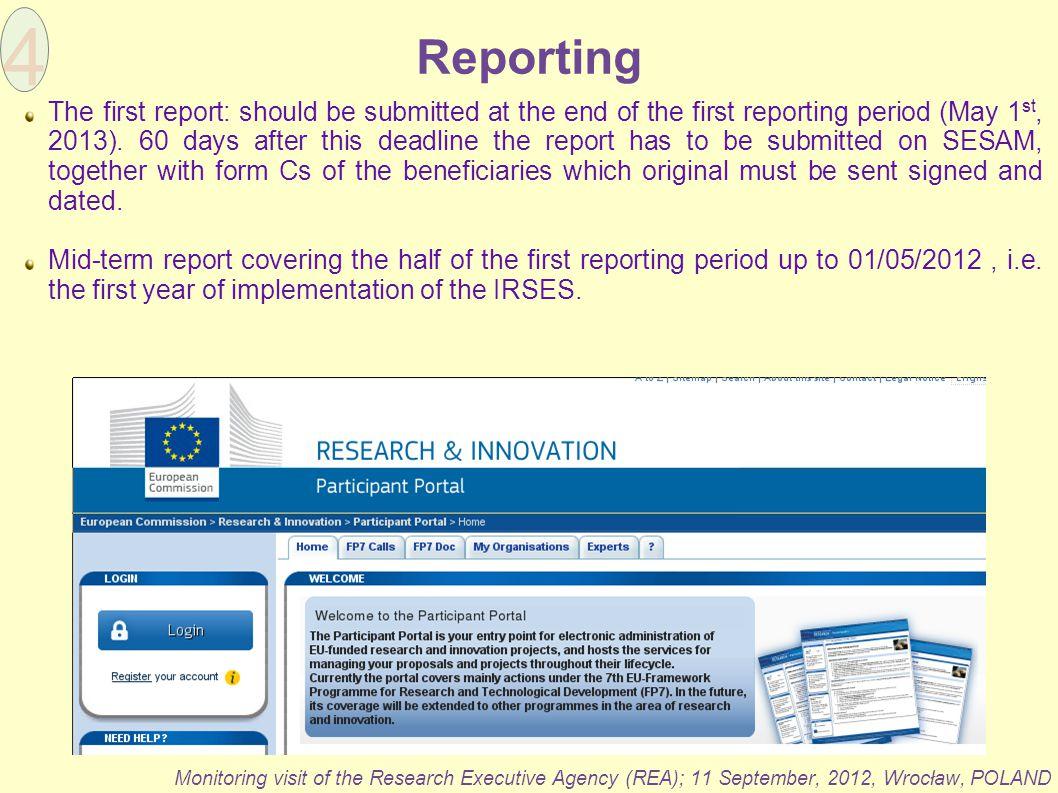 4 Reporting.