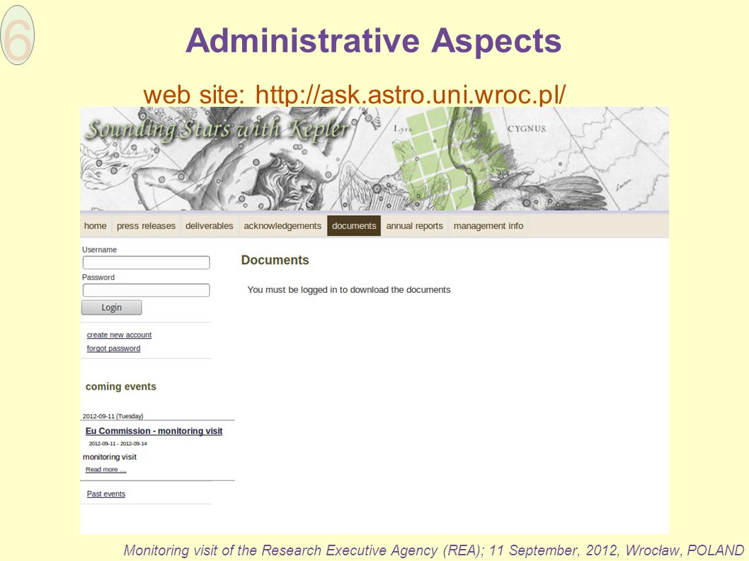 Administrative Aspects
