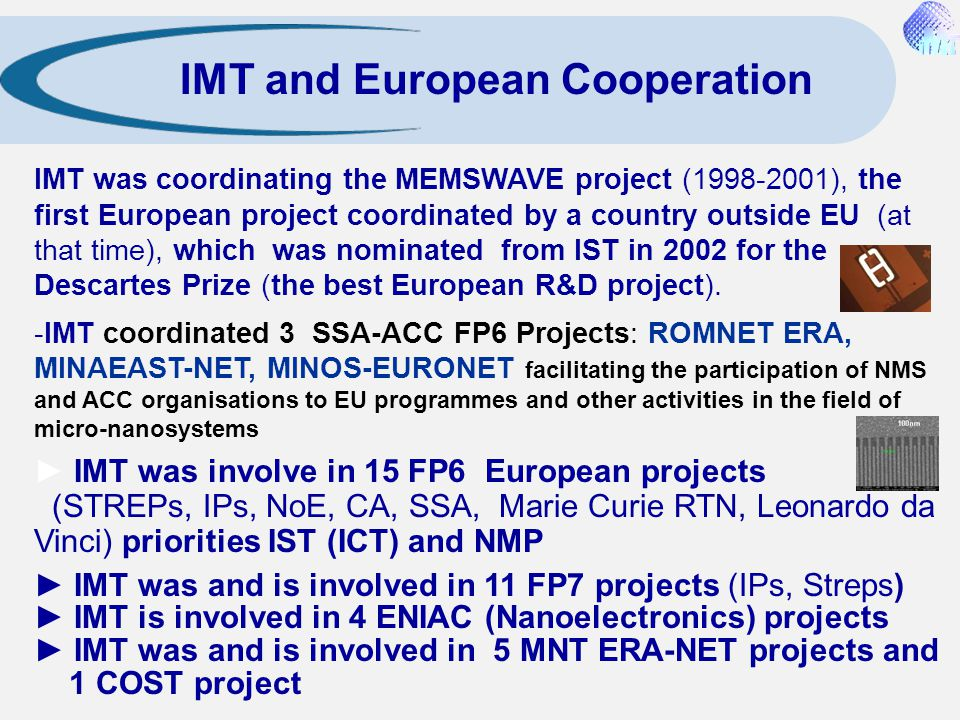 IMT and European Cooperation