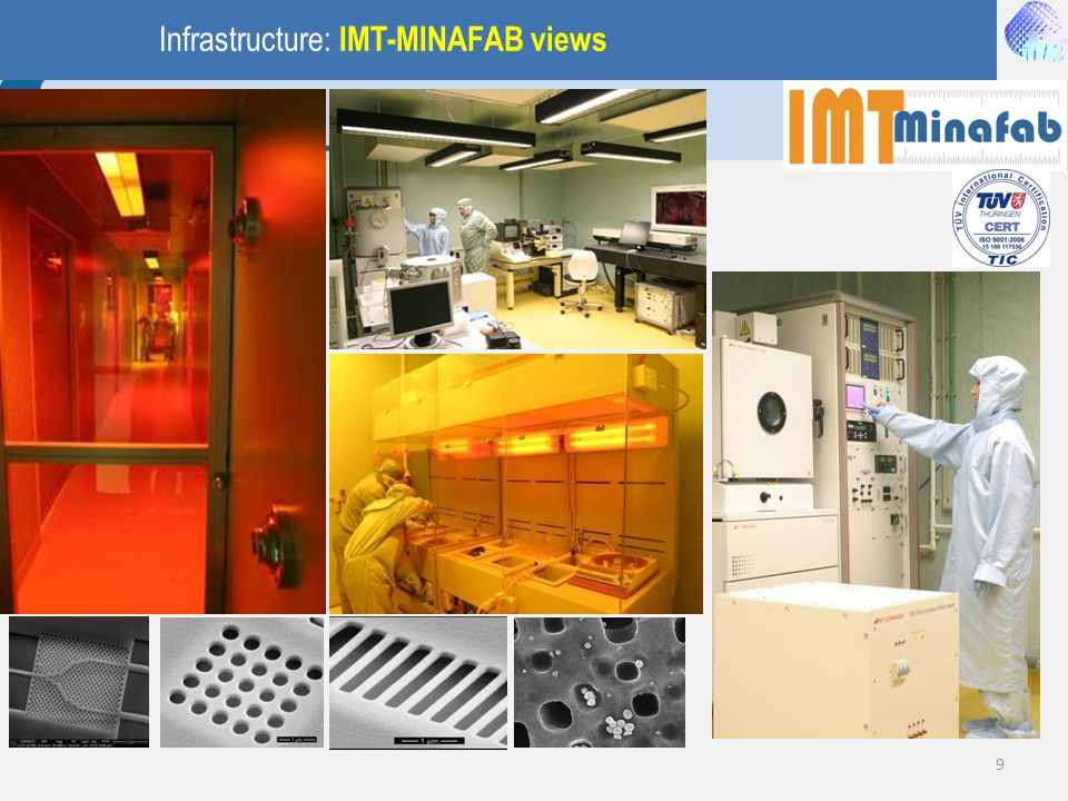 Infrastructure: IMT-MINAFAB views