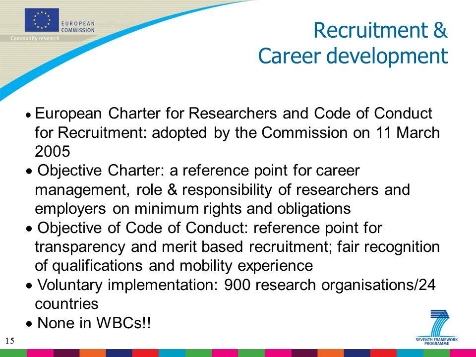 Recruitment & Career development