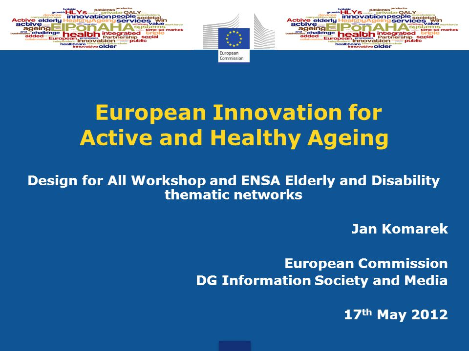 European Innovation for Active and Healthy Ageing