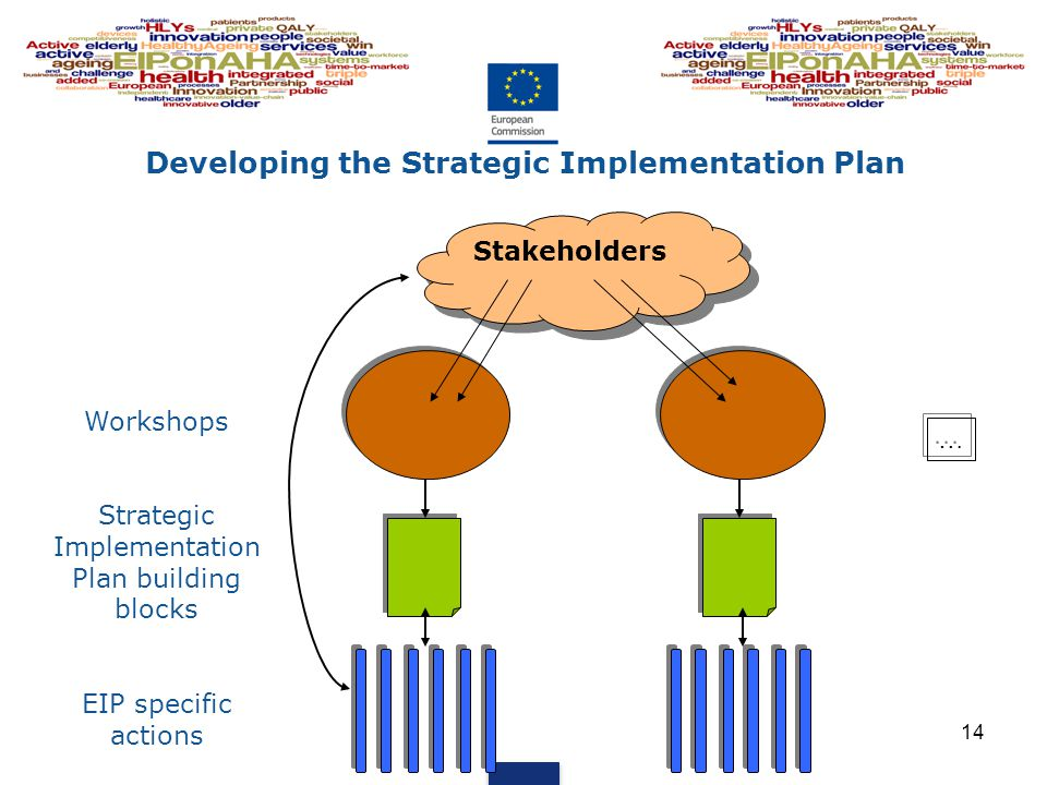 Developing the Strategic Implementation Plan