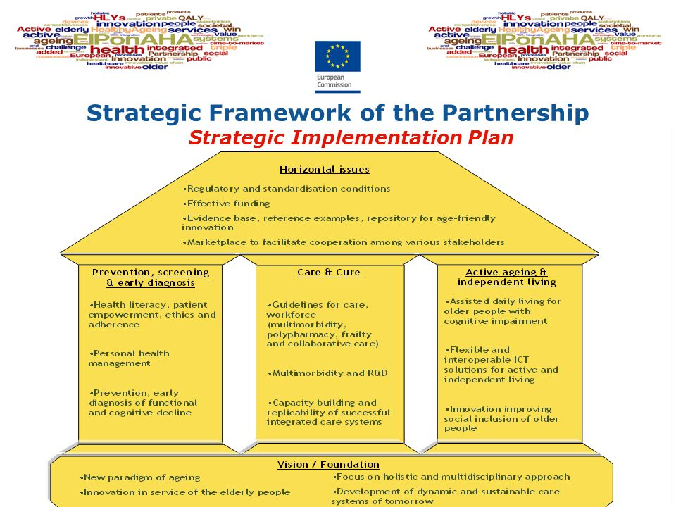 Strategic Framework of the Partnership Strategic Implementation Plan